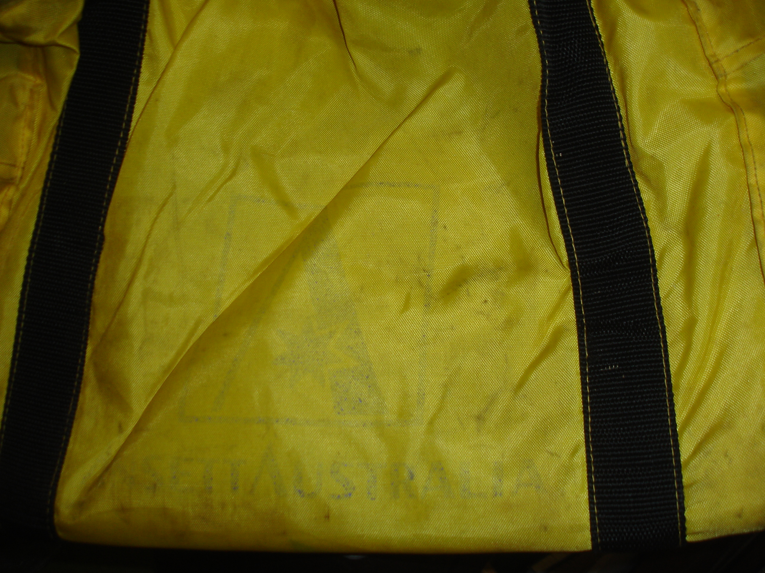 MAGAZINES BAG (Padded) -yellow
