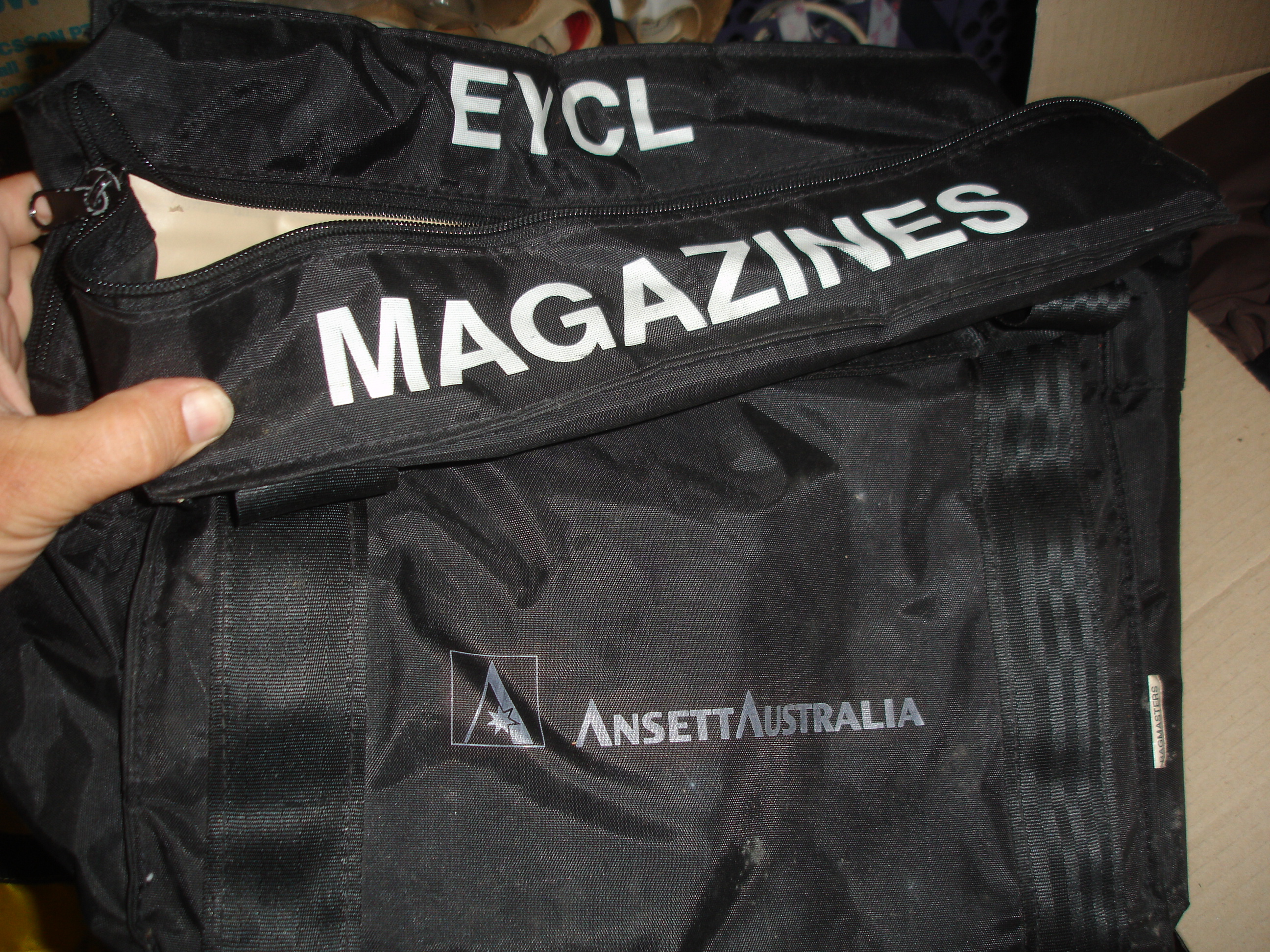 MAGAZINES BAG (Padded) - Black - EYCL