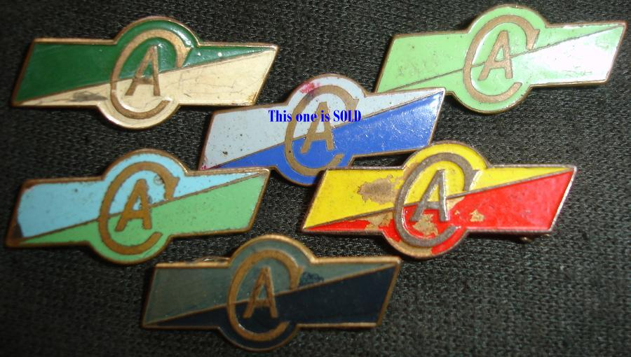 Commonwealth Aircraft Corp Badges