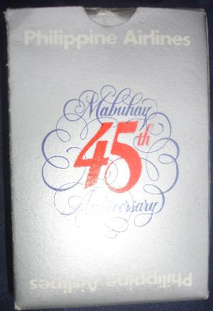 Philippine Airlines Cards - Mabuhay 45yrs