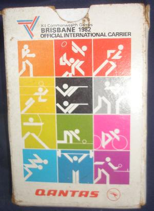 Qantas Cards 1982 Brisbane Commonwealth Games