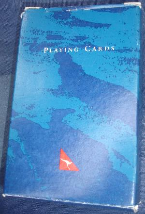 Qantas Cards blue #2