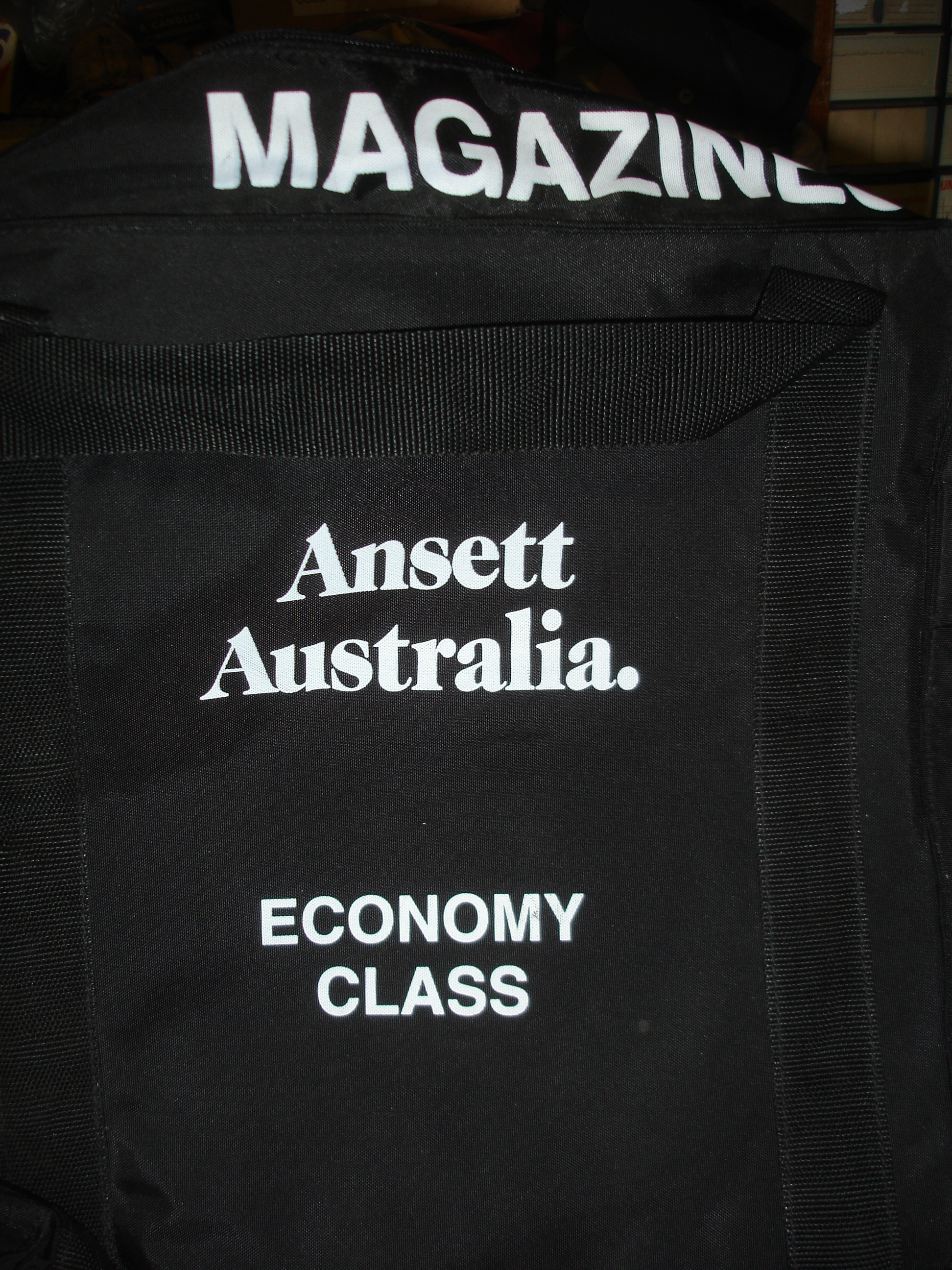 MAGAZINES BAG (Padded)-black eycl