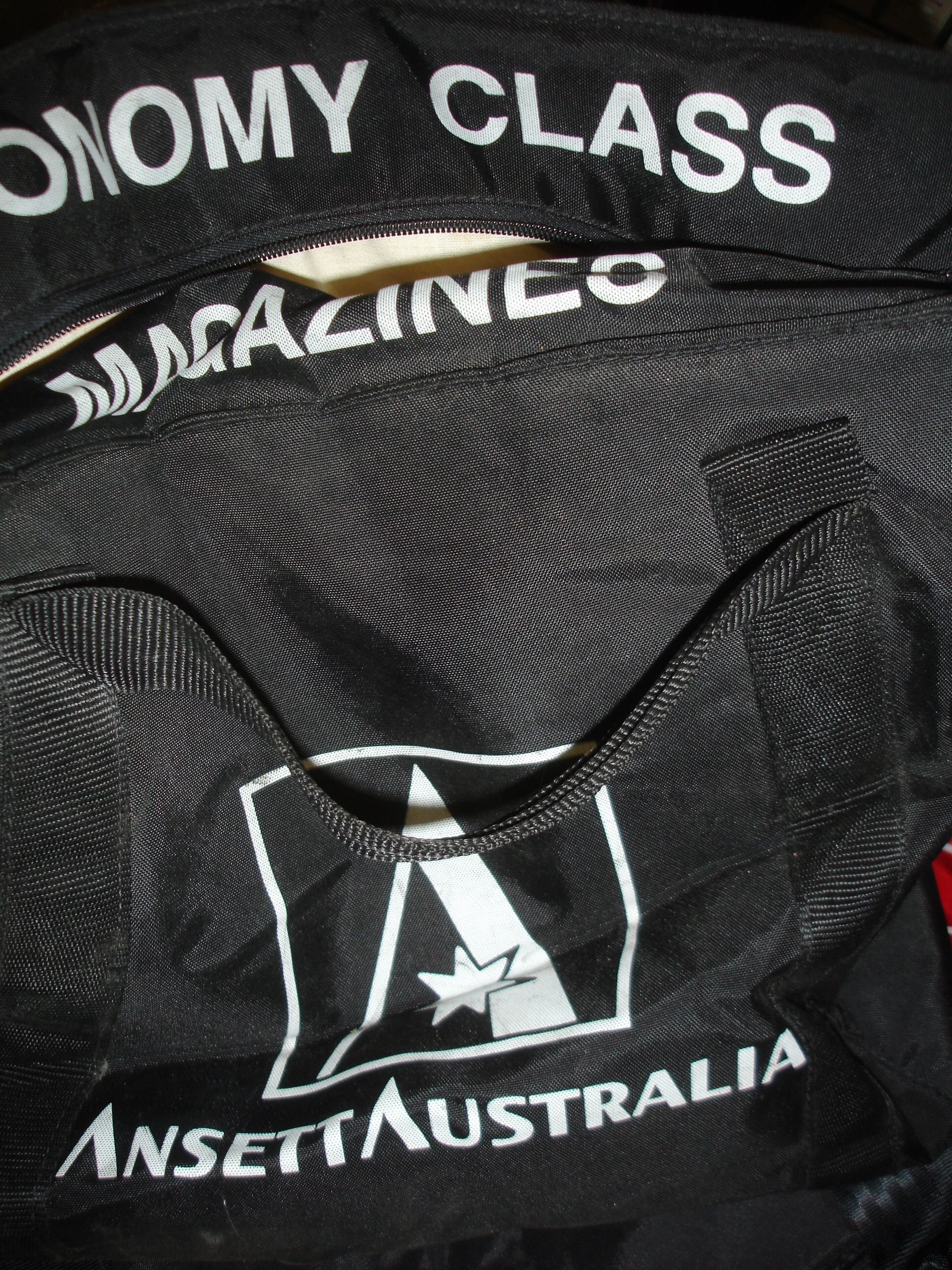 Ansett Inflight Magazine Bag (Padded)